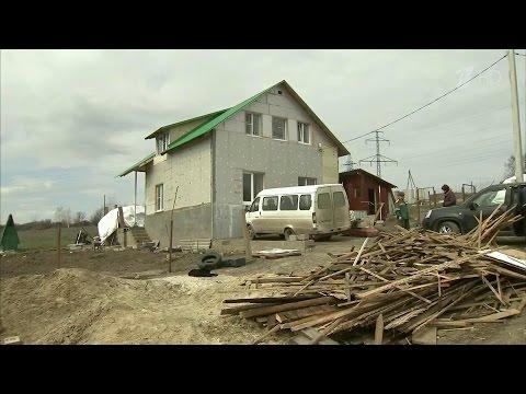 В Волгограде многодетные семьи получили земельные участки, опасные для проживания.