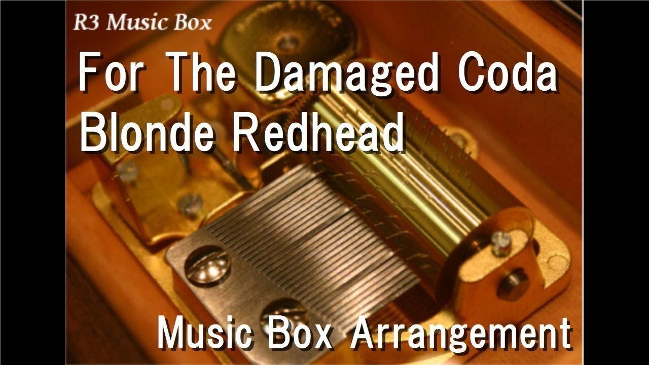 Blonde redhead conan