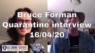 Bruce Forman Jazz guitar player - Stay-at-Home Coronavirus interview - 16/04/20