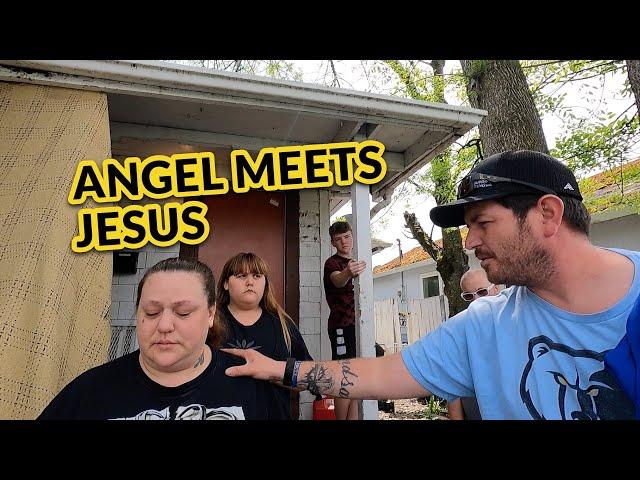 Angel Meets Jesus