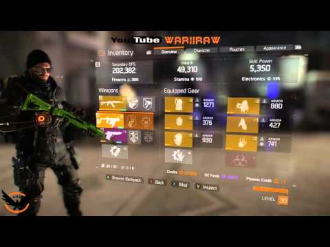 Tom Clancy's The Division  THE  200K DPS CLUB    BEST GUN VECTOR 45 ACP ''Highest DPS''