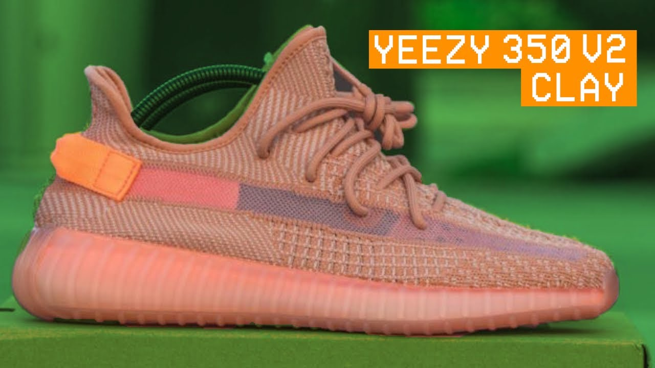 f1c8b4d08 YEEZY 350 V2 CLAY FIRST LOOK!!! - YouTube