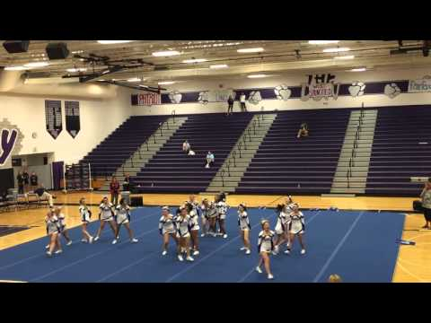 Osbourn Park High School Cheer Regional Finals 2015
