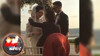 Derby Romero dan Claudia Adinda Menikah di Bali Hot Shot 15 Oktober 2017