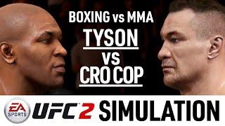 Mike Tyson Vs Mirko Cro Cop - EA Sports UFC 2 Simulation - (CPU Vs CPU)