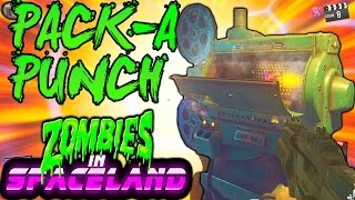 ZOMBIES IN SPACELAND PACK A PUNCH TUTORIAL! FULL PACK A PUNCH GUIDE | INFINITE WARFARE ZOMBIES