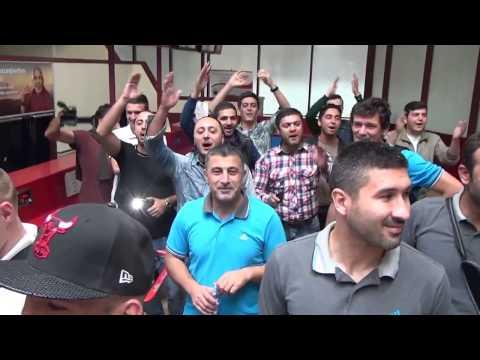 Qarabağ FK Havalimanı Flashmob