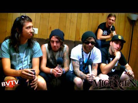 "Of Mice & Men Interview #1 at Warped Tour 2010 - BVTV ""Band of the Week"" HD"