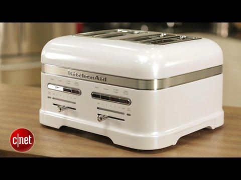 kitchen aid pro 500 zinc top island the $500 kitchenaid toaster takes you for a ride - youtube