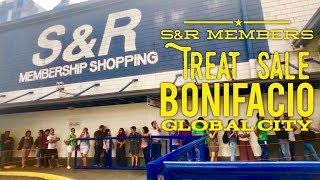 2018 S&R Members Treat Sale Bonifacio Global City - Best DEALS!