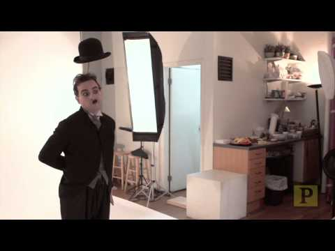 "Rob McClure Becomes ""Chaplin"""