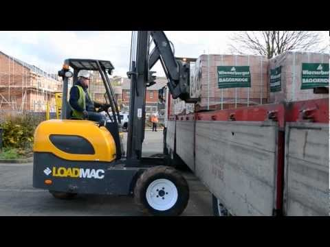 Loadmac 825 Truck Mounted Forklift