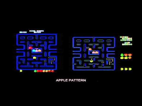 Pac-man Comparison Arcade vs ColecoVision