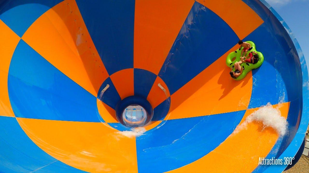 Wet N Wild Las Vegas Map.Tornado Water Slide Funnel Ride Wet N Wild Water Park Youtube