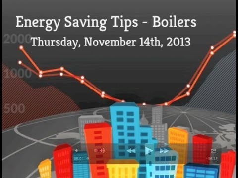 Energy Saving Tips - Boilers