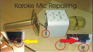 Q7 Karoke Mic Repairing Step by step | How to fix Q7 or Q9 Problems very easy | How to open Q7 mic