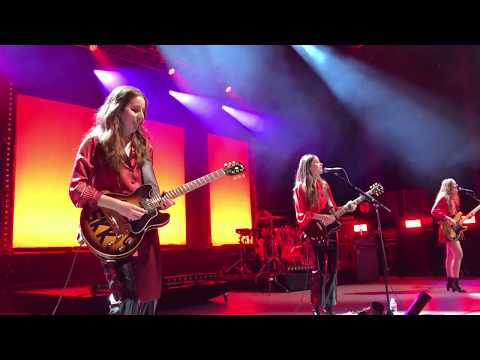 HAIM - Little of Your Love @ The Greek Theatre 10/19/2017