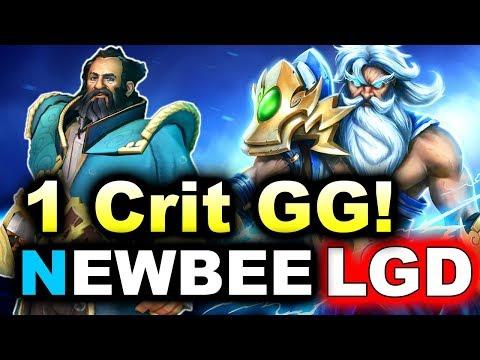 NEWBEE vs PSG.LGD - 1 CRIT = GG! - MDL MAJOR DOTA 2