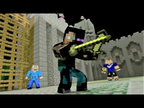 "Minecraft Song and Minecraft Animation ""Castle Raid 1"" Minecraft Song by Minecraft Jams"