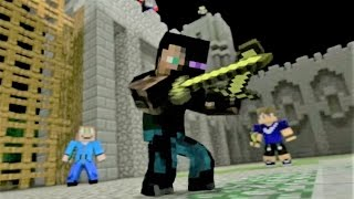 Minecraft Song and Minecraft Animation 'Castle Raid 1' Minecraft Song by Minecraft Jams