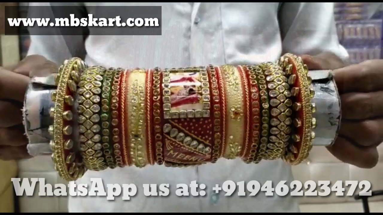 Latest design Of  Bridal chura 2020 #nameandphotobangles #lakhbangles #kundanbangles