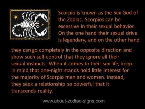what turns a scorpio man on