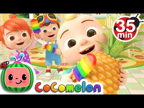Color Song (Ice Pop) | +More Nursery Rhymes & Kids Songs - CoCoMelon