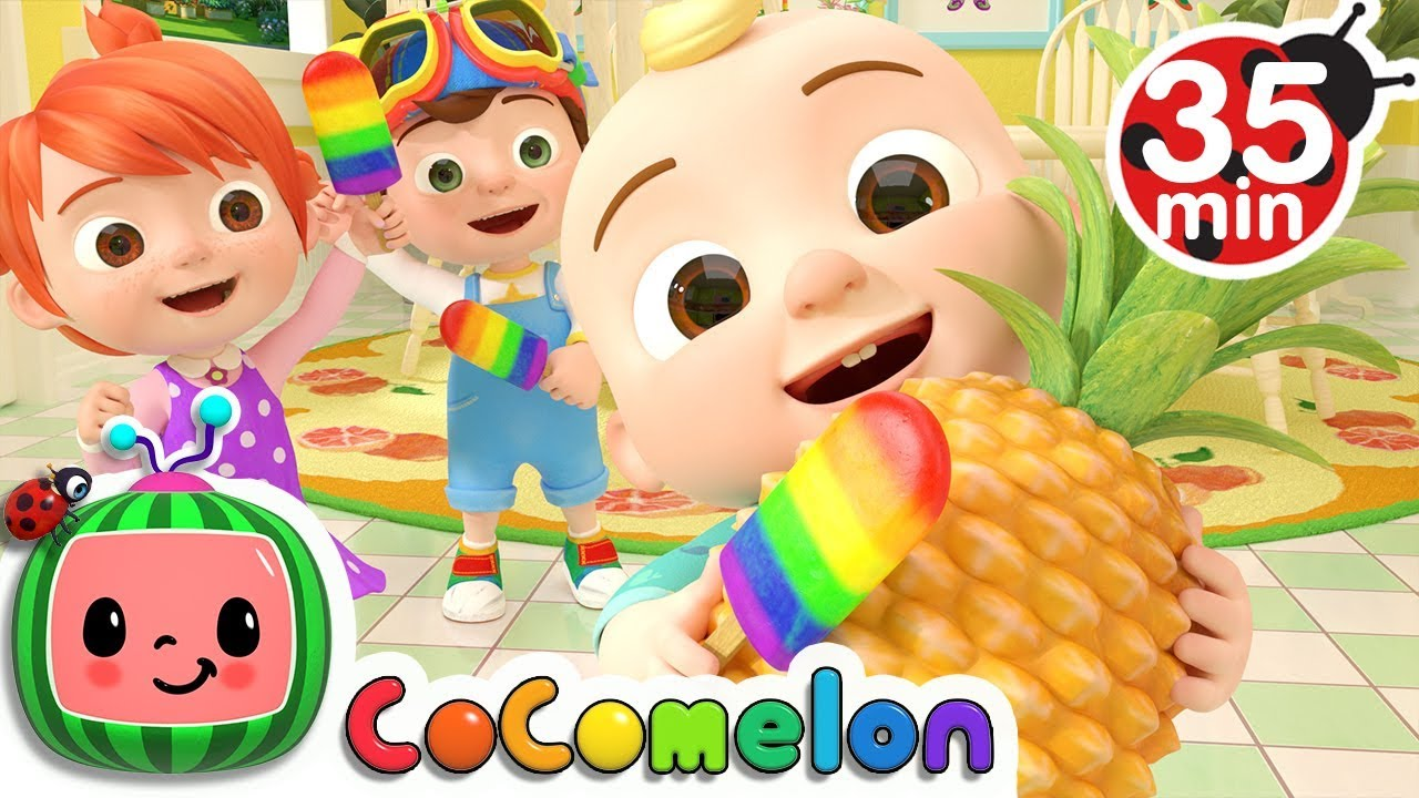 Color Song Ice Pop More Nursery Rhymes Kids Songs Cocomelon