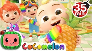 Color Song (Ice Pop) + More Nursery Rhymes & Kids Songs - CoComelon
