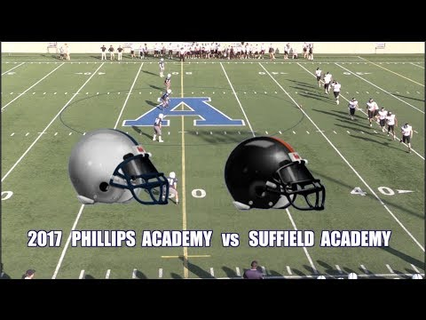 2017 Phillips Academy Andover Football vs Suffield