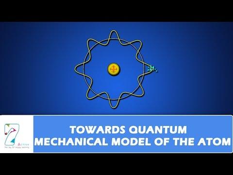 QUANTUM MECHANICAL MODEL OF THE ATOM PART 01 YouTube