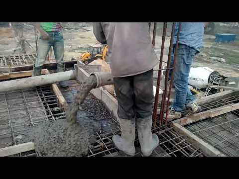Concrete for slab in civil engineering