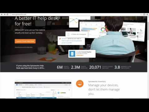 Spiceworks Administrator Course Introduction