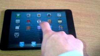 iPad Mini Ghost touching