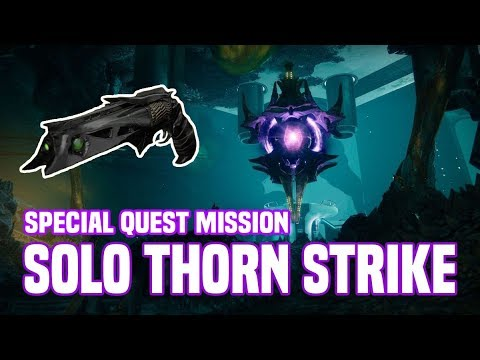 Soloing The Thorn Final Strike - The Chasm Of Screams | Destiny 2 thumbnail
