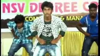 NSV DEGREE COLLEGE JAGTIAL FRESHERS DAY -2015