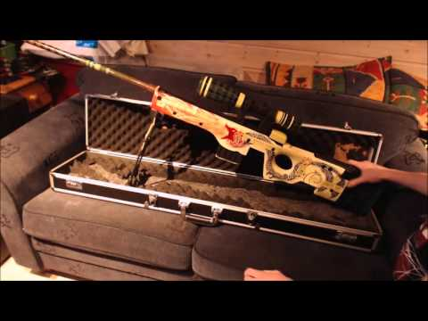 CSGO In Real Life AWP dragon lore - YouTube