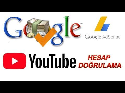 Adsense Hesap Doğrulama(Youtubeden Mesaj Geldi)-Banka Hesabı Ekleme
