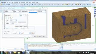 Пример подготовки и решения задачи моделирования литья в VisualCAST