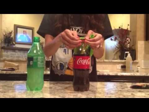 Pop Rocks into Soda Experiement