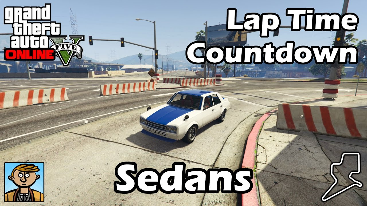 Fastest Sedans Gta Best Fully Upgraded Cars Lap Time