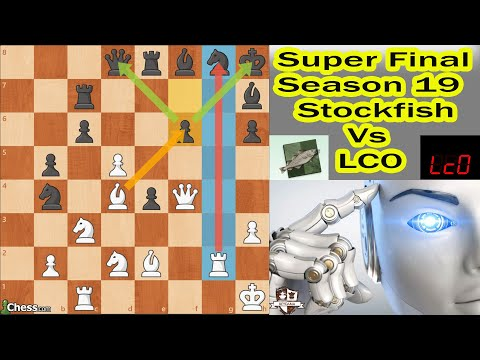 Superfinal de Súper MÁQUINAS Stockfish VS LC0 Top Chess Engine Championship  (TCEC 19), Ronda 74