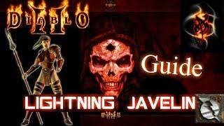 Lightning Javazon is javazon the Best PVM Build in the Game? - Diablo 2