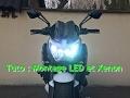 Tuto montage ampoule LED ventilé et kit Xenon KZFF Z800