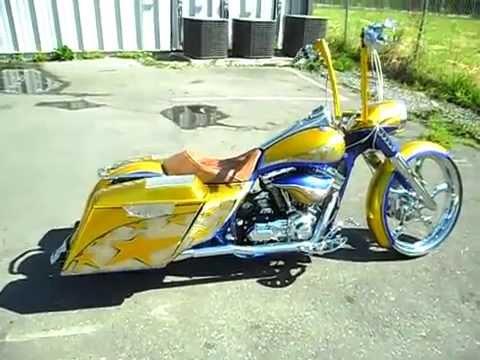 America DLux Motorcycle Bagger Parts - Canada Azzkikr Custom Motorcycles