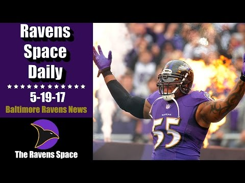 Is Suggs a Top 5 Baltimore Raven? - Ravens Space Daily 5-19-17