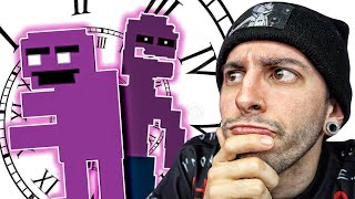 REACCIONANDO A LA CRONOLOGÍA DE FIVE NIGHTS AT FREDDY'S | Robleis