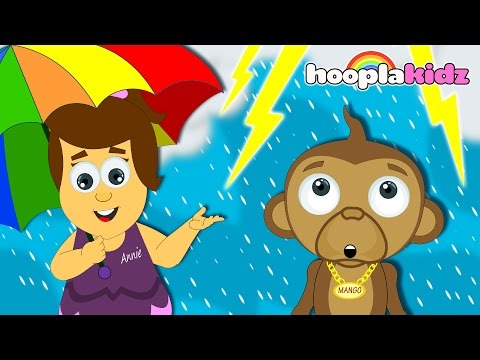 I Hear Thunder | Nursery Rhymes Songs Collection | From HooplaKidz