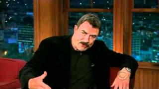 Tom Selleck on The Late Late Show with Craig Ferguson - 04/28/11