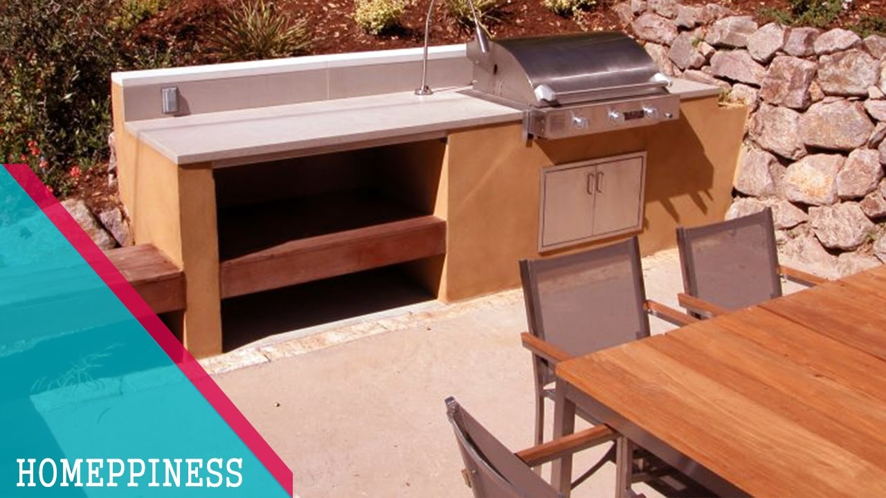 MAKE A GREAT OUTDOOR KITCHEN!!! With These 20+ Backyard Kitchen Design  Ideas 2017